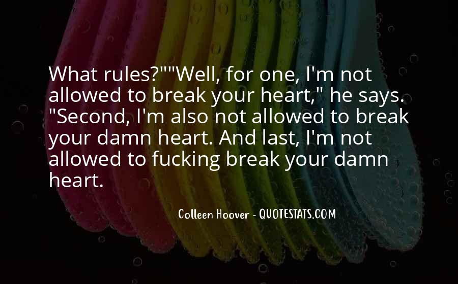 Quotes About Not Allowed Love #1592438