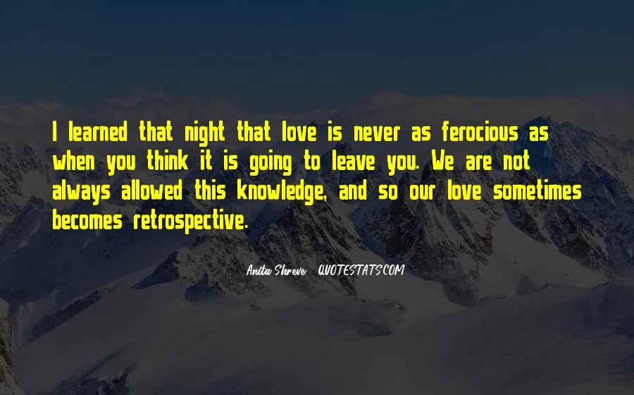 Quotes About Not Allowed Love #693689