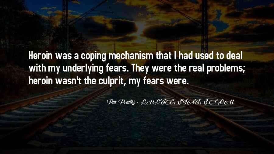 Quotes About Coping With Problems #1484008
