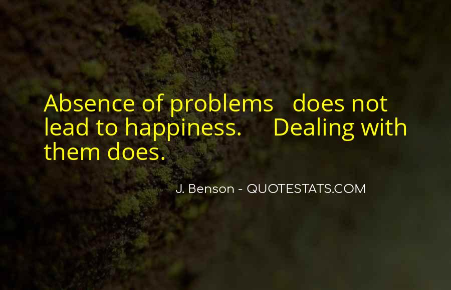 Quotes About Coping With Problems #496101