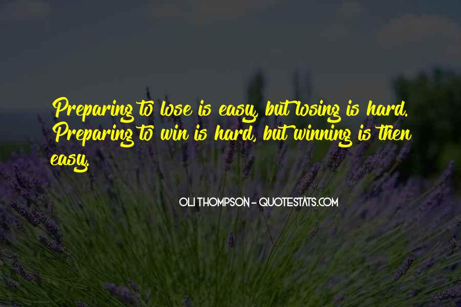 Quotes About Preparing To Win #1742693
