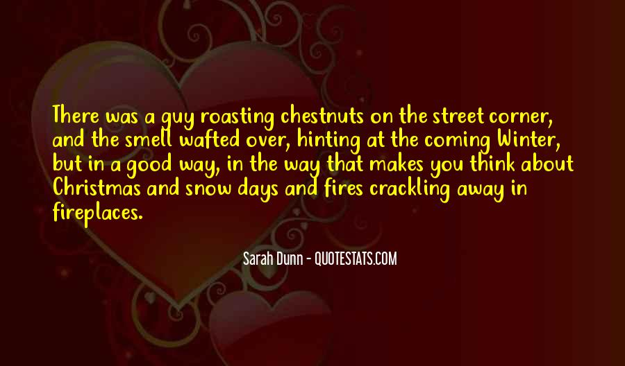 Quotes About The Smell Of Christmas #140804