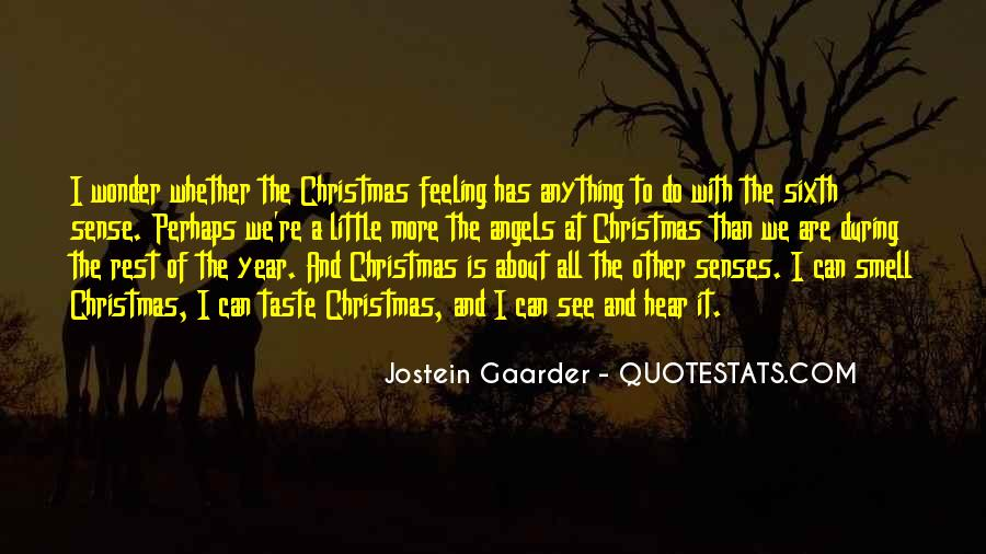Quotes About The Smell Of Christmas #1562888