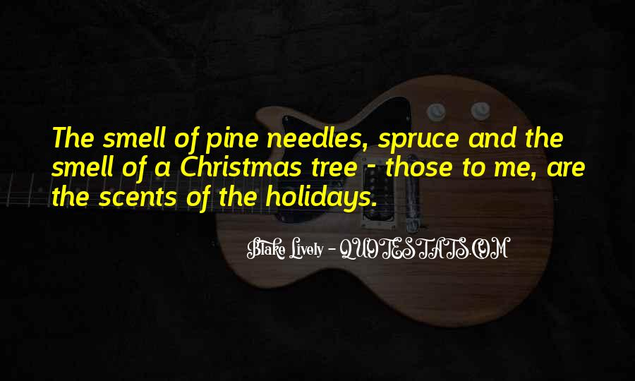 Quotes About The Smell Of Christmas #1666620