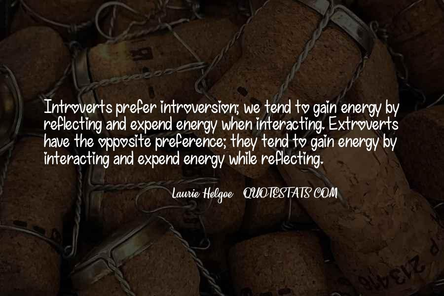 Quotes About Extroverts #1149872