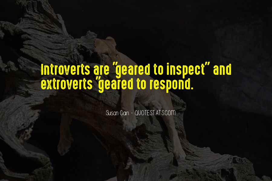 Quotes About Extroverts #1434891