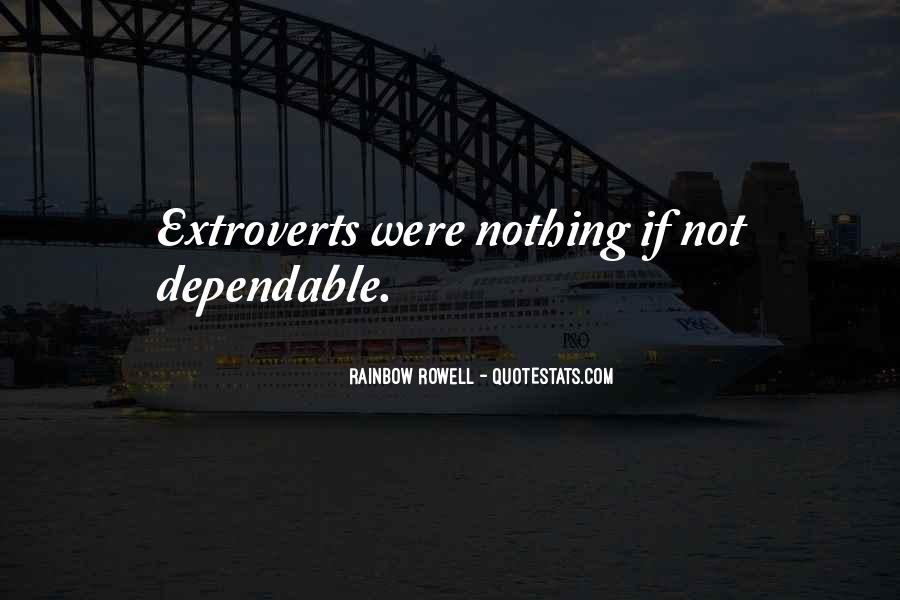 Quotes About Extroverts #1609668
