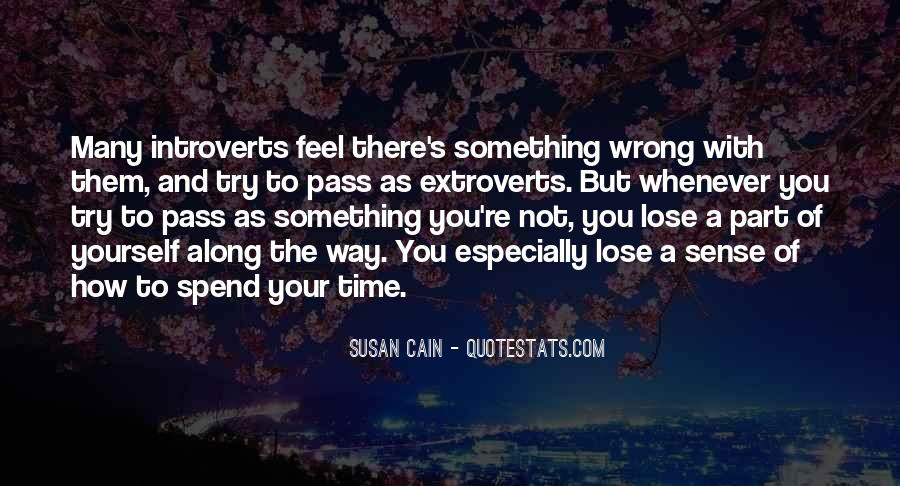 Quotes About Extroverts #1689256