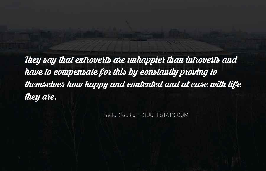 Quotes About Extroverts #1766362