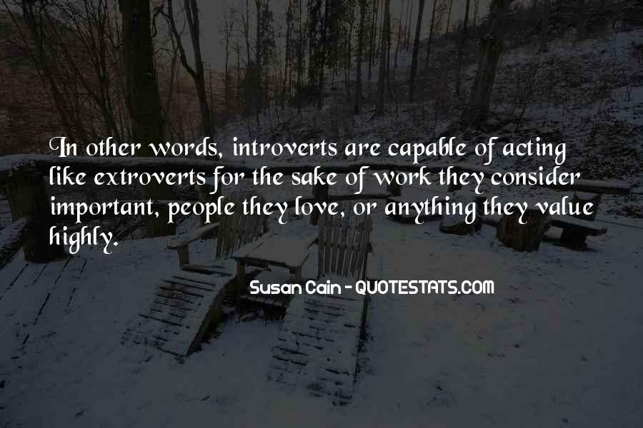 Quotes About Extroverts #258236