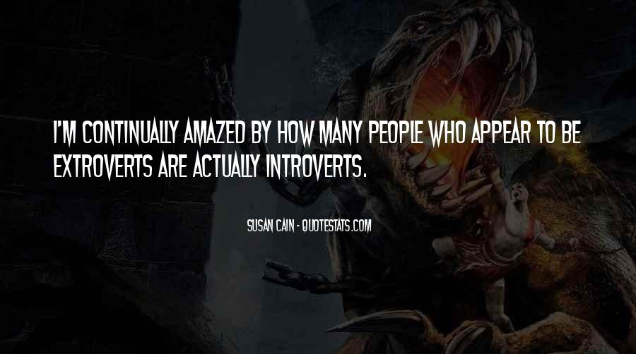 Quotes About Extroverts #496028