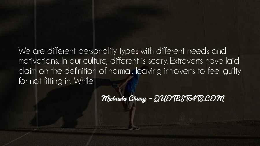 Quotes About Extroverts #515076