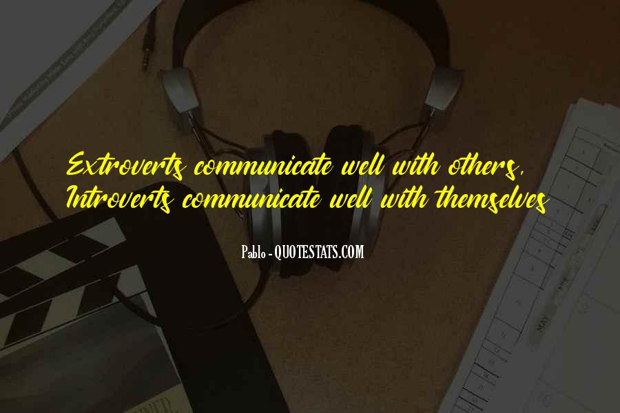 Quotes About Extroverts #714073