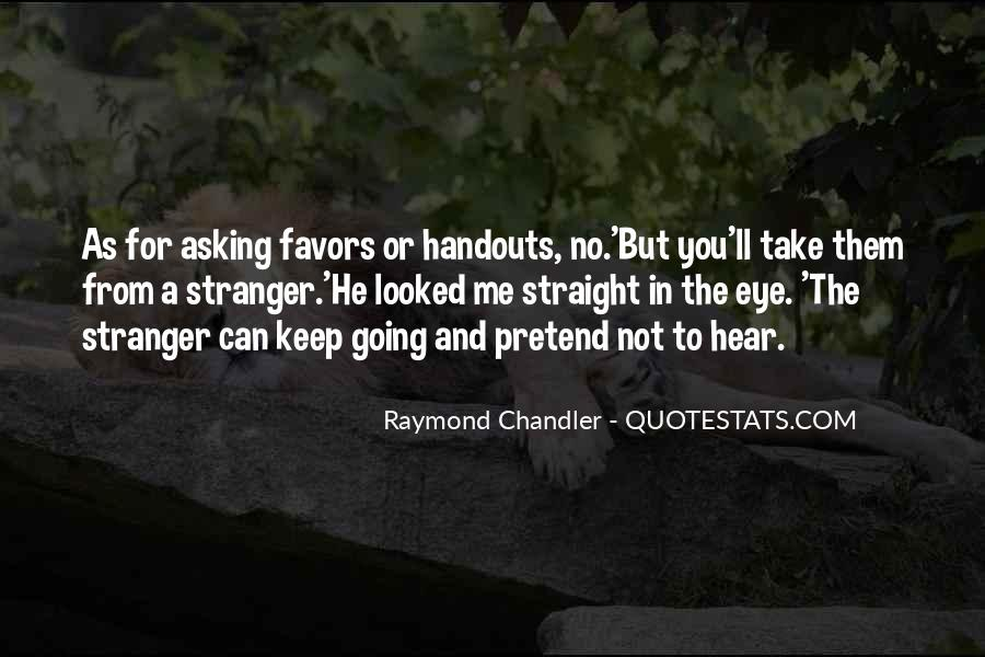 Quotes About Asking Favors #740290