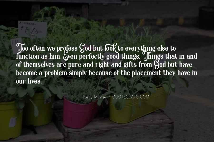 Quotes About Gifts From God #1010145