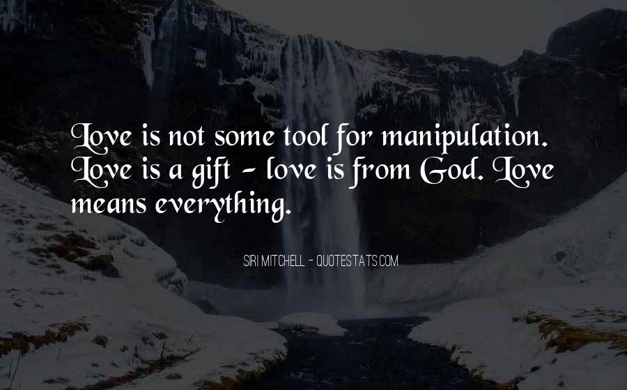 Quotes About Gifts From God #1011191