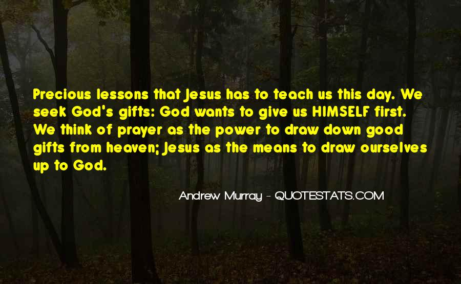 Quotes About Gifts From God #1037064