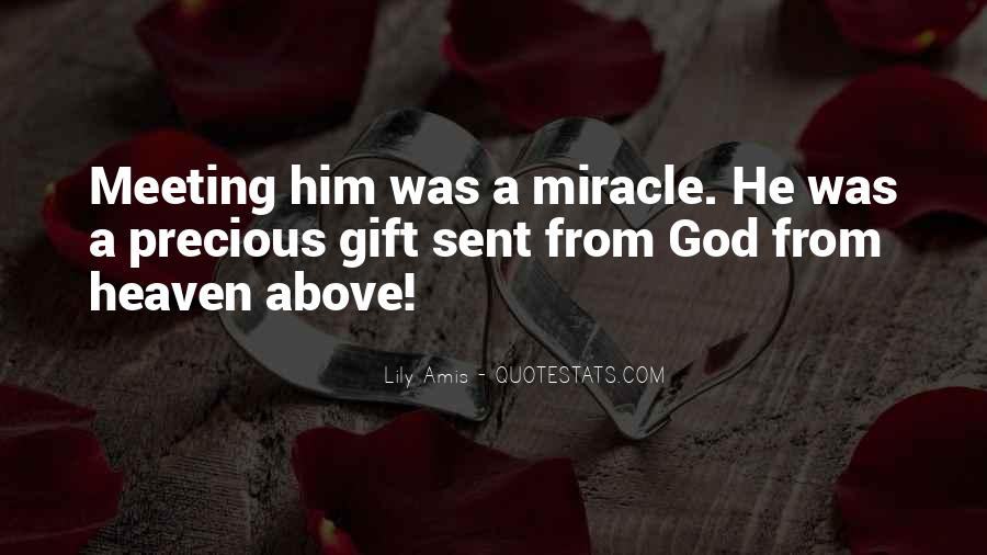 Quotes About Gifts From God #1041625
