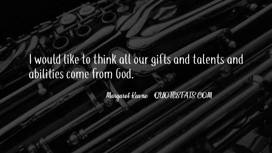 Quotes About Gifts From God #1043271