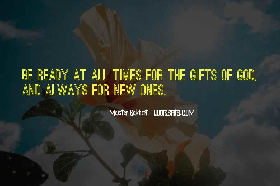 Quotes About Gifts From God #1059536