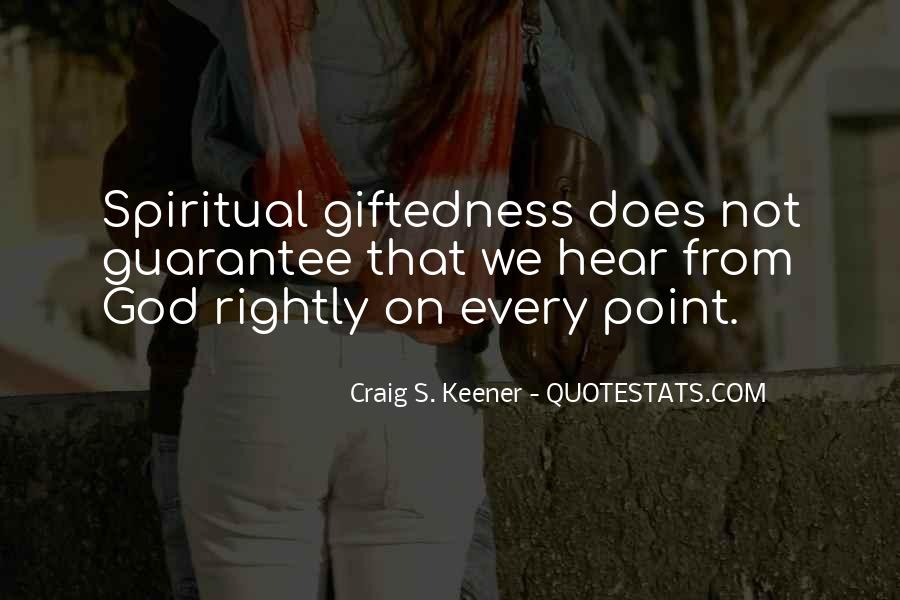Quotes About Gifts From God #109819