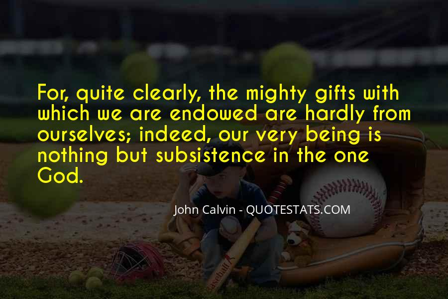 Quotes About Gifts From God #1100402