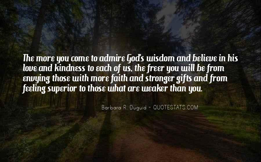 Quotes About Gifts From God #1240131