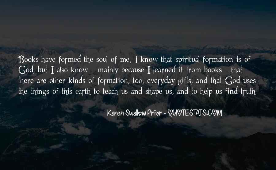 Quotes About Gifts From God #1308093