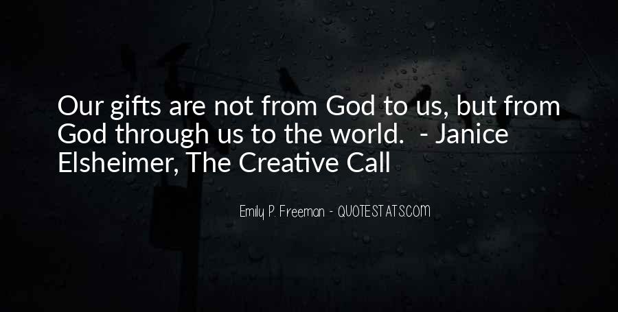 Quotes About Gifts From God #1409939