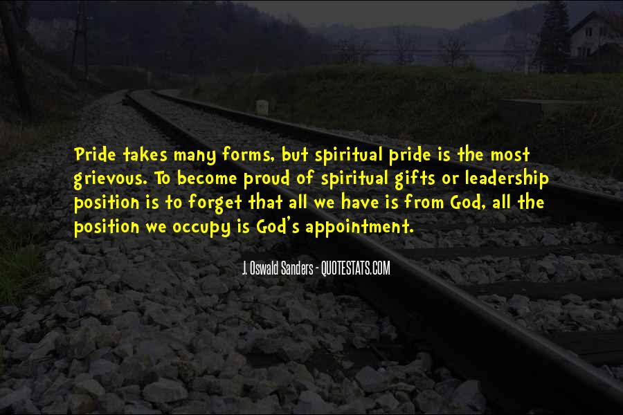Quotes About Gifts From God #1424428