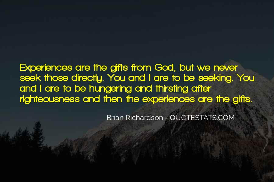 Quotes About Gifts From God #1510954