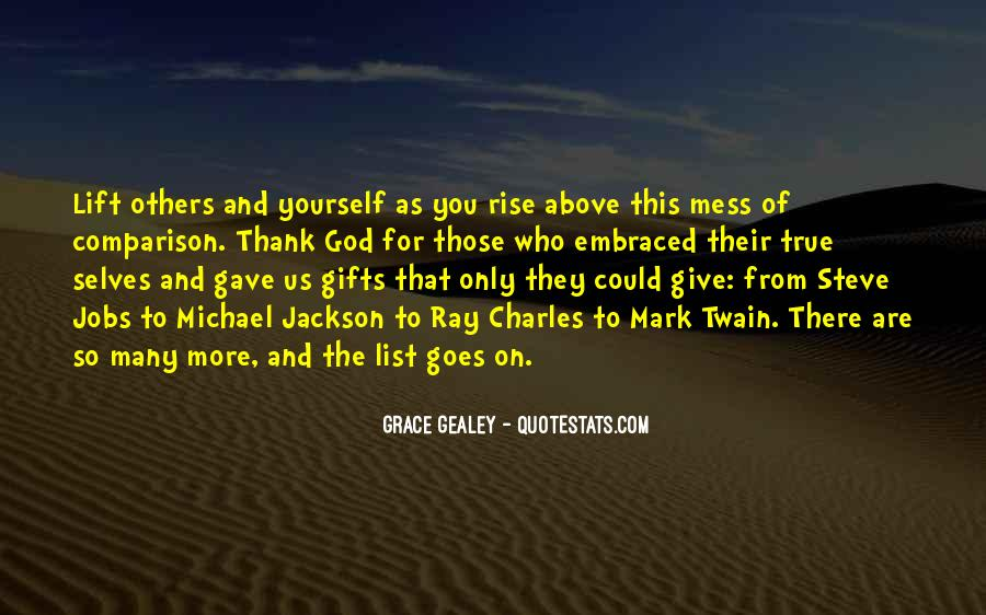 Quotes About Gifts From God #1716602