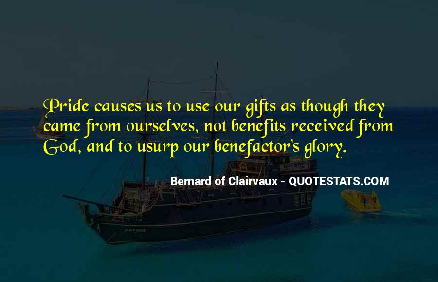 Quotes About Gifts From God #1745060