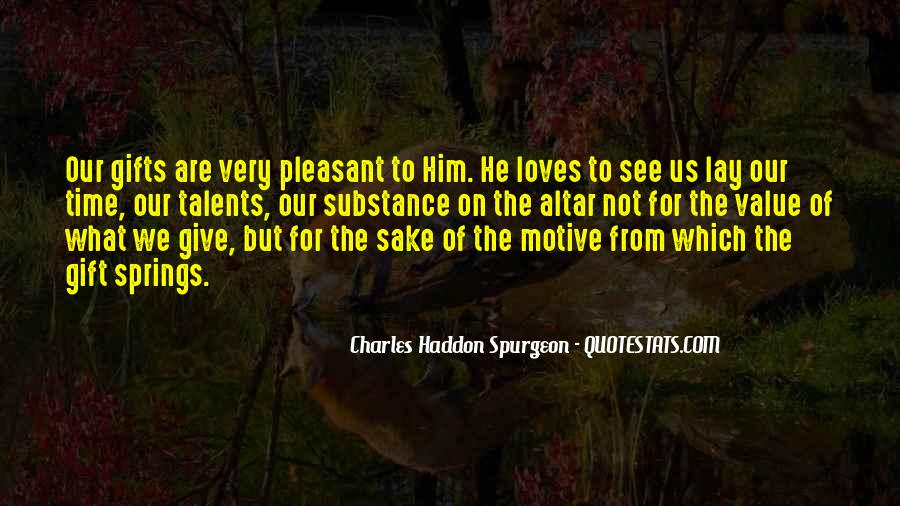 Quotes About Gifts From God #1863542