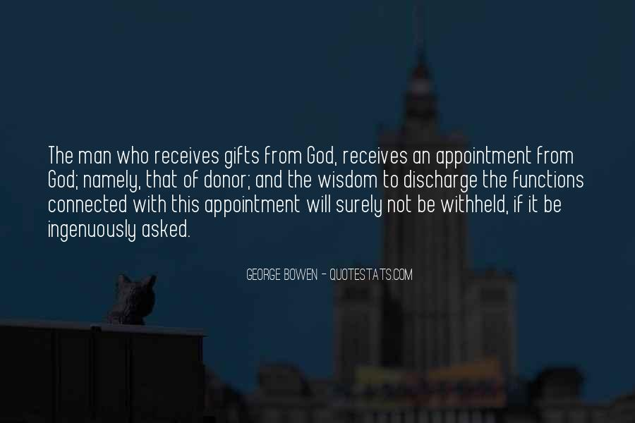 Quotes About Gifts From God #1871607