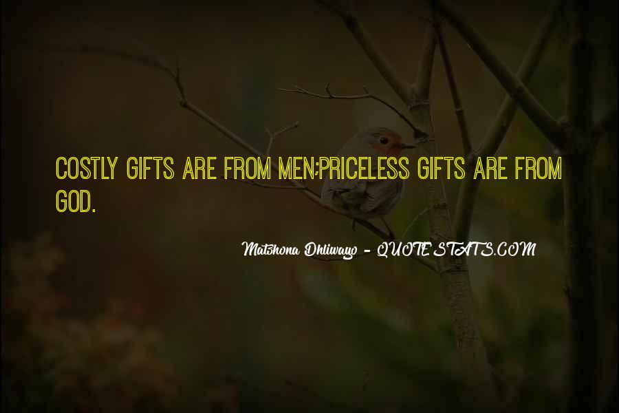 Quotes About Gifts From God #201844