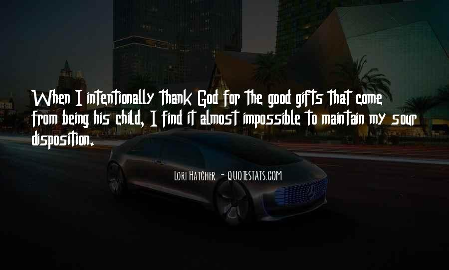 Quotes About Gifts From God #365155