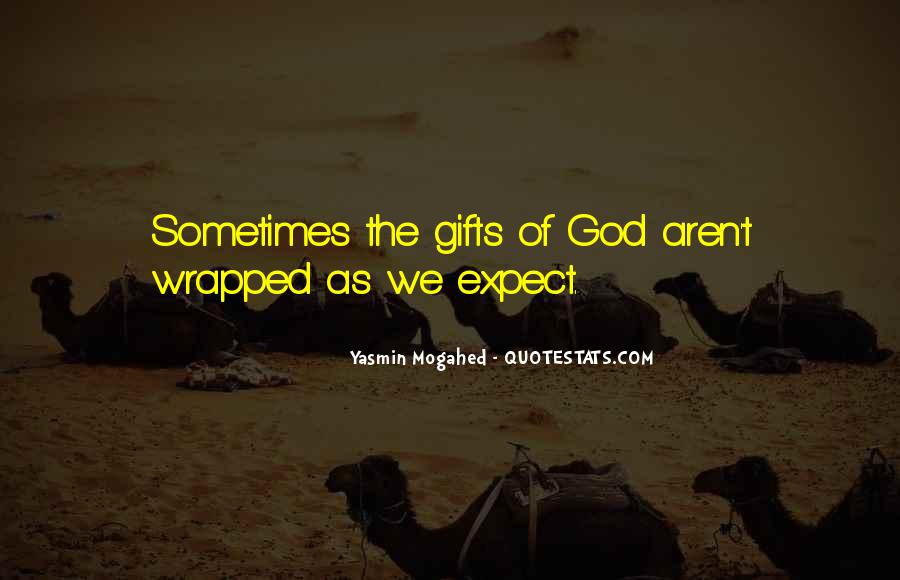 Quotes About Gifts From God #394714