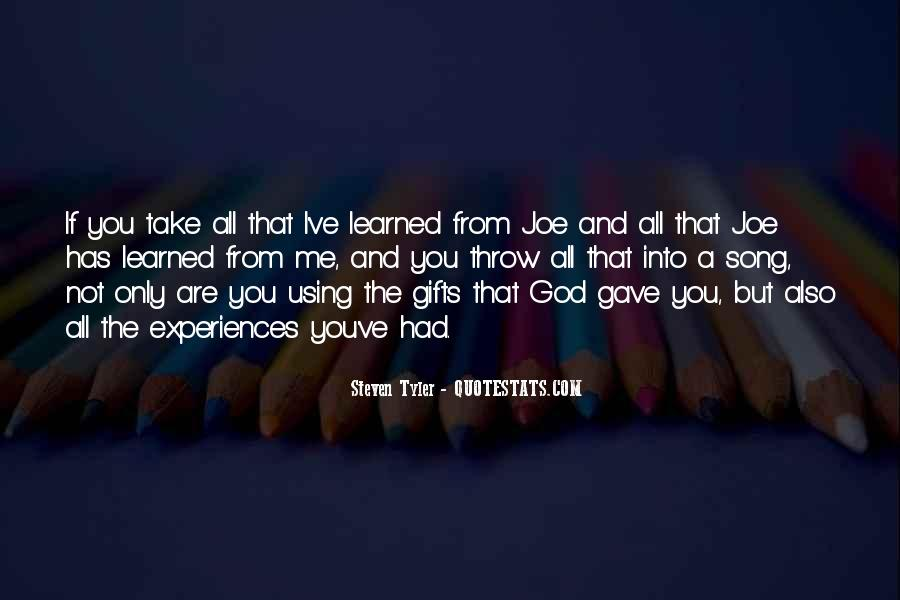 Quotes About Gifts From God #445433