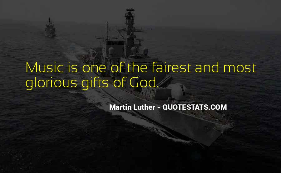 Quotes About Gifts From God #473960