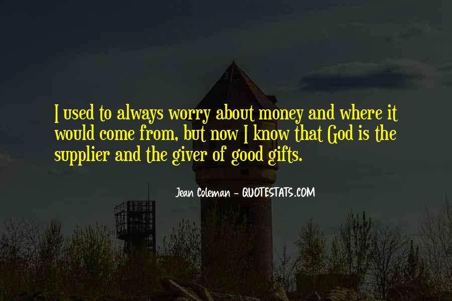 Quotes About Gifts From God #633306