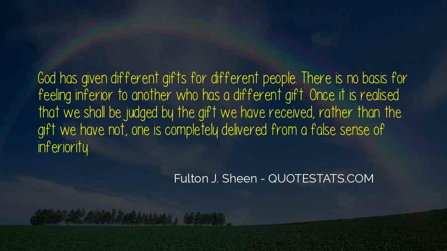 Quotes About Gifts From God #784682