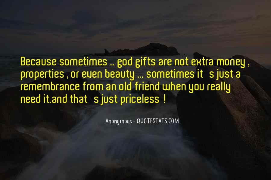 Quotes About Gifts From God #933098