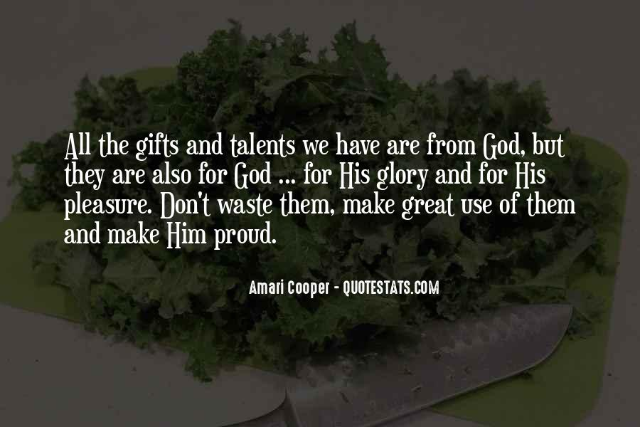 Quotes About Gifts From God #975787