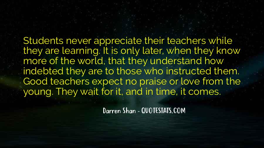 Quotes About Students From Teachers #1231435