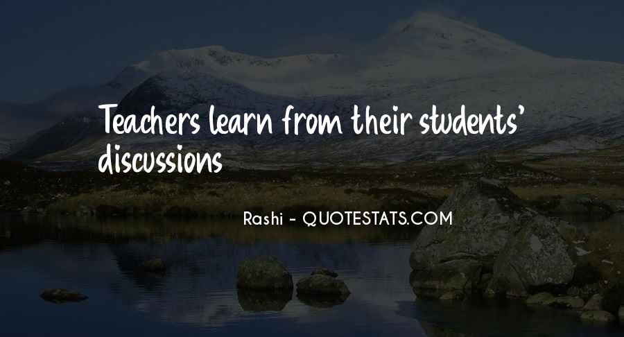 Quotes About Students From Teachers #1774808