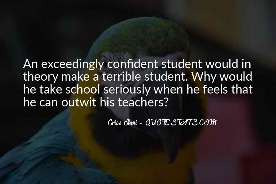 Quotes About Students From Teachers #199204