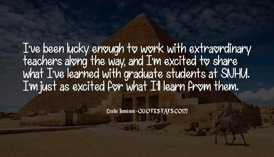 Quotes About Students From Teachers #209906