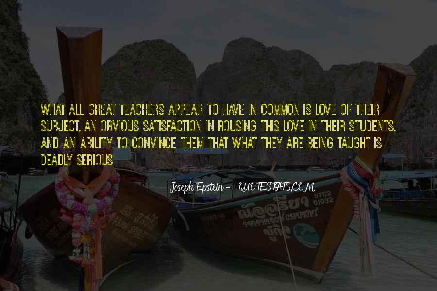 Quotes About Students From Teachers #263957