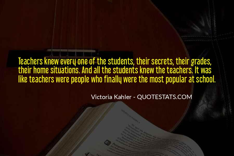 Quotes About Students From Teachers #294995